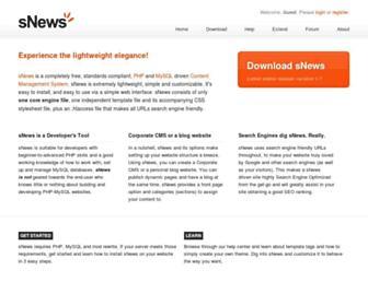 Thumbshot of Snewscms.com