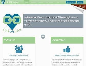 Thumbshot of Linkwelove.it