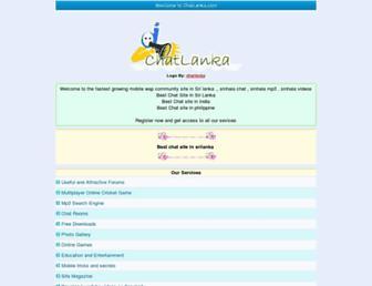 chatlanka.com screenshot