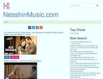 nesshinmusic.com screenshot