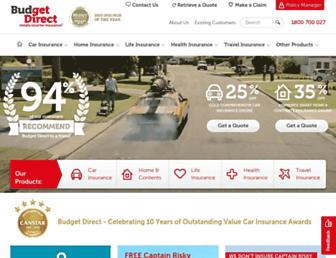Thumbshot of Budgetdirect.com.au