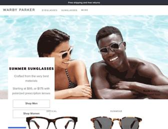 Thumbshot of Warbyparker.com
