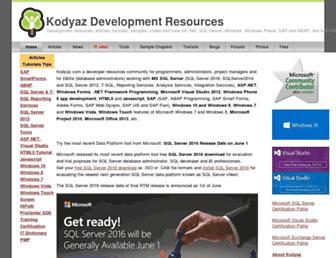kodyaz.com screenshot