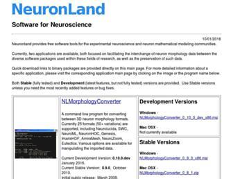 neuronland.org screenshot