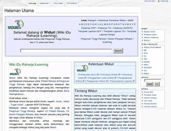 widuri.raharja.info screenshot