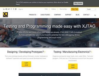 xjtag.com screenshot