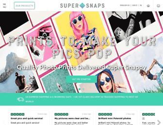 supersnaps.com screenshot