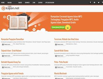 kajian.net screenshot