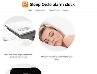 Thumbshot of Sleepcycle.com