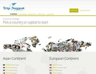 trip-suggest.com screenshot
