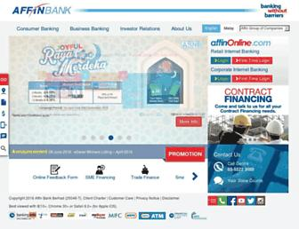 Thumbshot of Affinbank.com.my