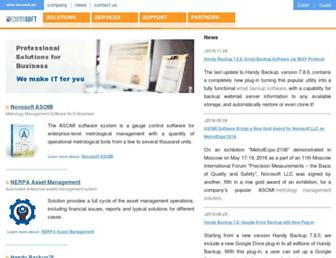 novosoft.net screenshot