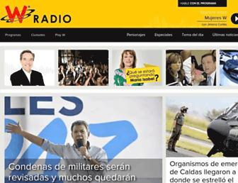 wradio.com.co screenshot