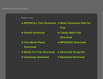 Thumbshot of Begin-download.com