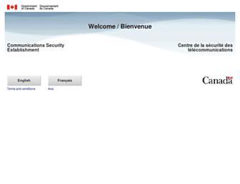 cse-cst.gc.ca screenshot