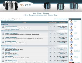 sps-treff.de screenshot