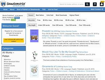 Thumbshot of Smashwords.com