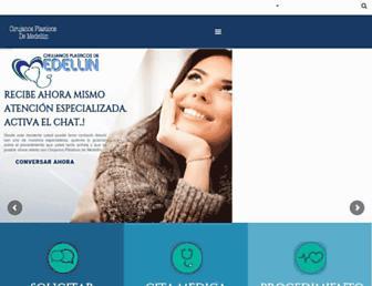 cirujanosplasticosdemedellin.com screenshot