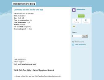 randolfminor.typepad.com screenshot