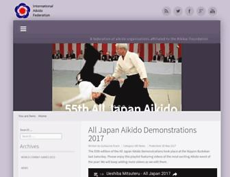 aikido-international.org screenshot