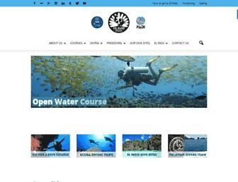 palawan-divers.org screenshot