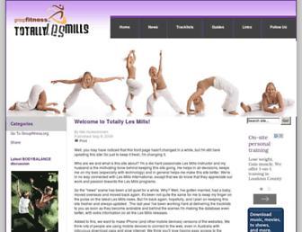 totallylesmills.com screenshot