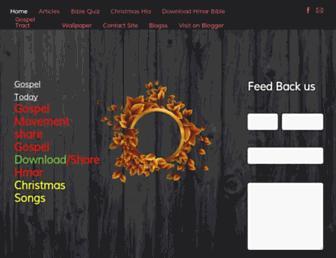 gospeltoday.weebly.com screenshot