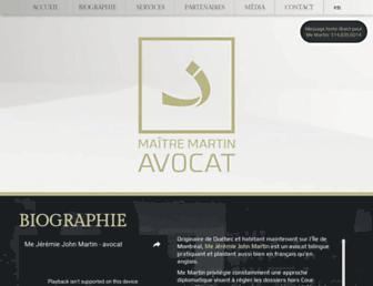 maitremartin.com screenshot