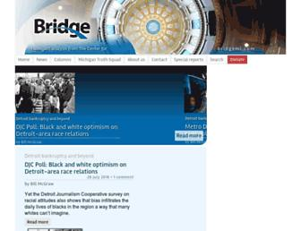 bridgemi.com screenshot