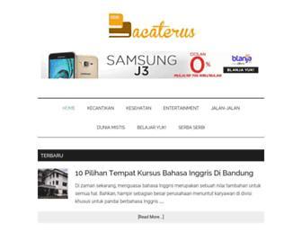 bacaterus.com screenshot