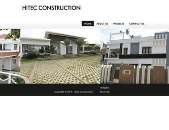 hitecconstructions.com screenshot