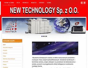 newtec.pl screenshot