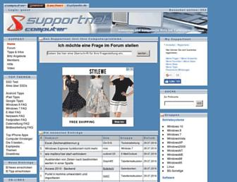 supportnet.de screenshot