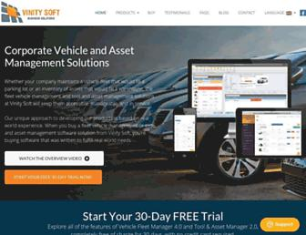 vinitysoft.com screenshot