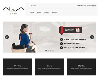 alvachair.com screenshot