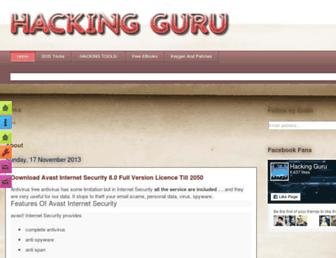 yourhackinguru.blogspot.com screenshot