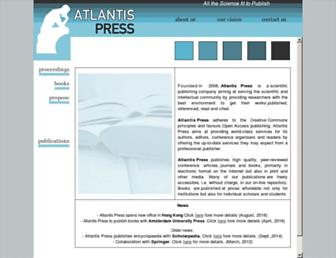 download.atlantis-press.com screenshot