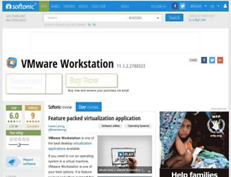 vmware-workstation.en.softonic.com screenshot