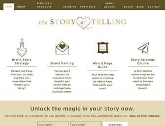 Thumbshot of Thestoryoftelling.com