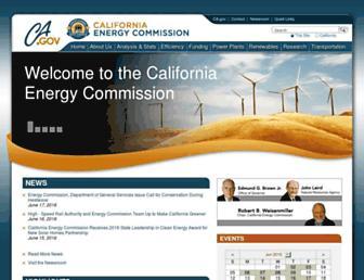 energy.ca.gov screenshot