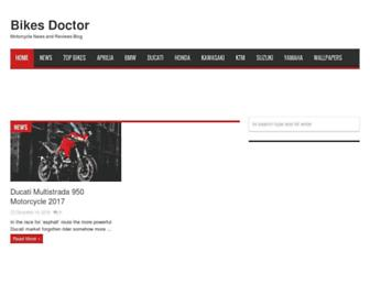 bikesdoctor.com screenshot