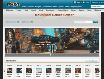 downloadgames.pogo.com screenshot