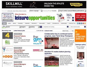 Thumbshot of Leisureopportunities.co.uk