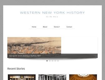 wnyhistory.org screenshot