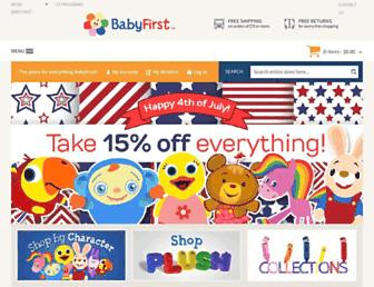 Thumbshot of Babyfirsttv.com