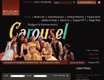 pitlochryfestivaltheatre.com screenshot