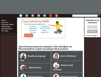 songsforteaching.com screenshot