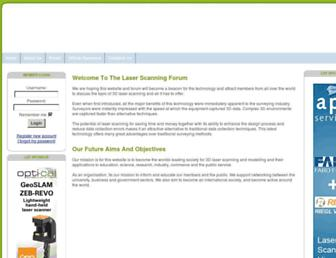 laserscanningforum.com screenshot