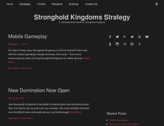 stronghold-kingdoms-strategy.com screenshot