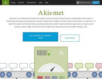 Thumbshot of Akismet.com